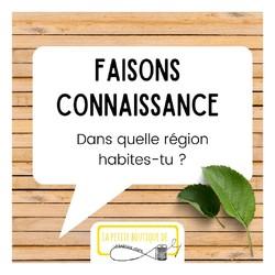 🌍Mais dis-moi, toi, tu habites où ?   🤷♀️Et oui, la semaine dernière je te parlais de notre projet de déménagement en Bretagne, mais du coup, je ne sais pas d'où tu es ?   🤗Je suis curieuse de savoir jusque-où s'étend la petite communauté de La sardine verte :)   👉Alors indique moi ton numéro de département en commentaire !📍 sera l'occasion pour moi de réviser ma géographie :) )  ---------------------------------------------------- Justine 🍀 Créatrice enjouée de @lasardineverte  Je t'aide, toi qui cours partout🏃à réduire tes déchets🗑 Grâce à des articles: 🌿Durables 👌Faciles à utiliser et à entretenir 🌈Pétillants  Découvre-les ici: www.lasardineverte.com ---------------------------------------------------- #lasardineverte #avouslaparole #communauté #curieuse #département #vousconnaitre #faireconnaissance #reutilisable #prendresoindesoi #hautsdefrancefamily #reduiresesdechets #consommerresponsable #consommerlocal #ecolo #famillezerodechet #ethique  #savoirfairefrançais #ethique  #creatricefrançaise #petitcommerce